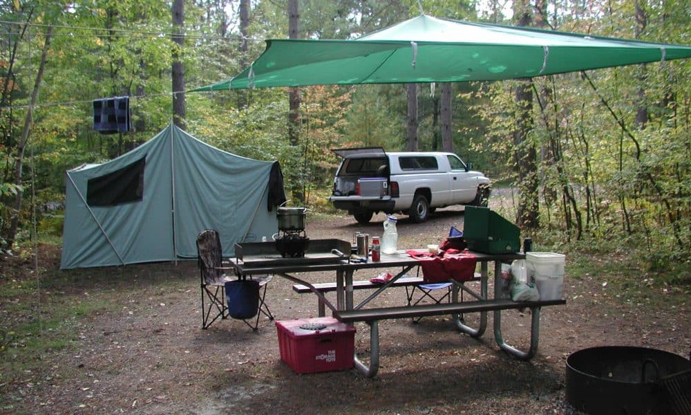 car camping equipment essentials and one epic move
