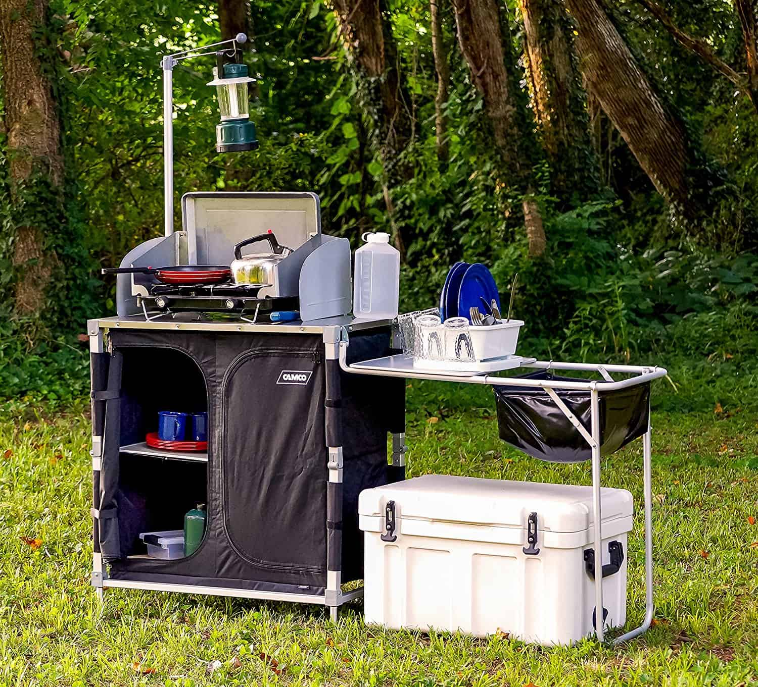 car camping kitchen discover the best way to get setup - Camping Kitchen