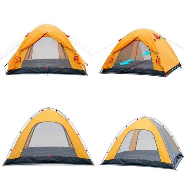 tent with rain fly