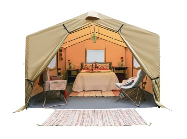 wall tent picture