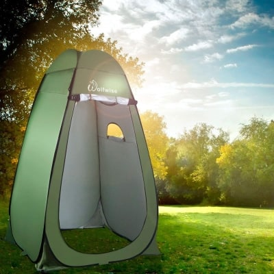 hygiene tent for camping