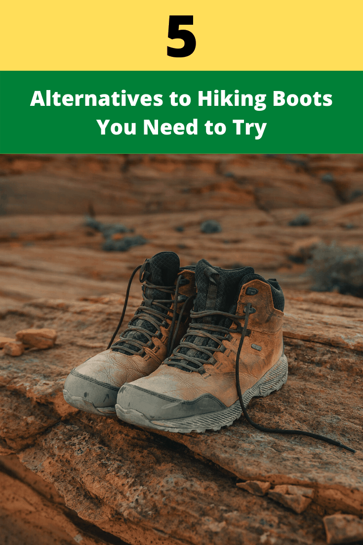 alternatives to hiking boots