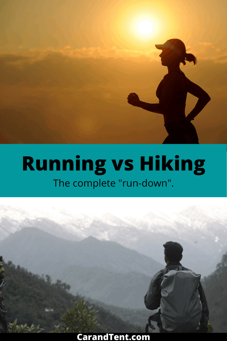 running vs hiking