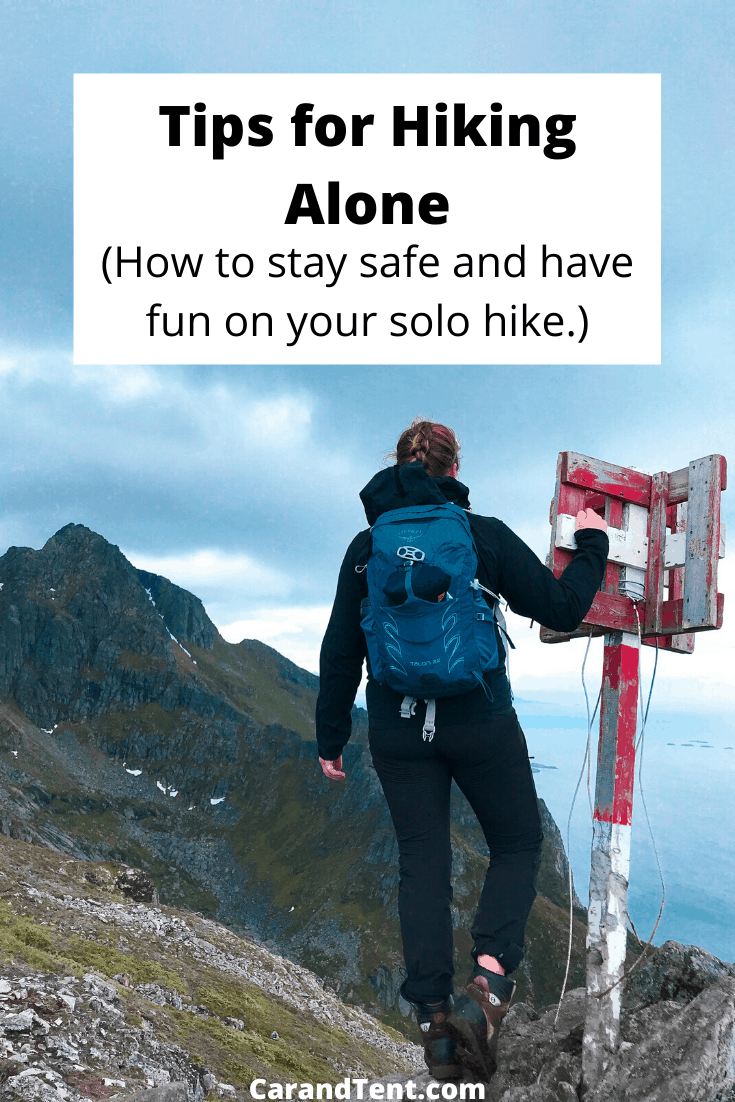 Tips for Hiking Alone pin3