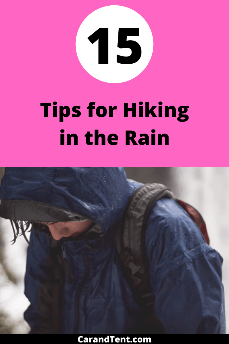 tips for hiking in the rain pin2