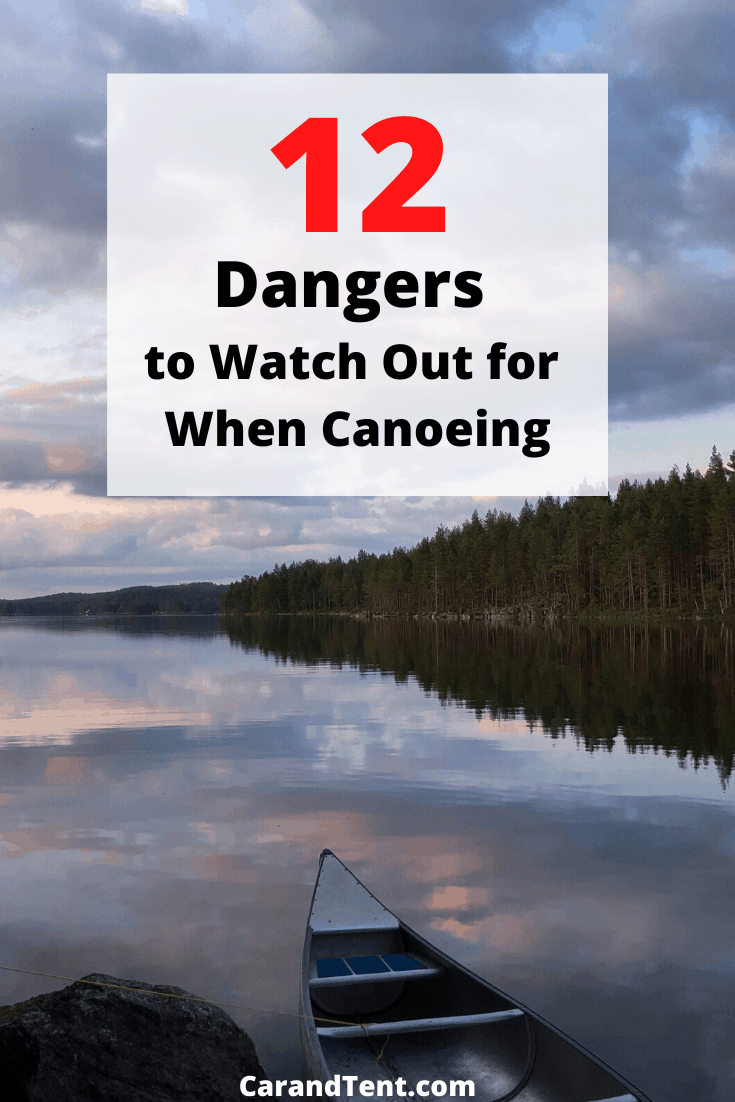 Dangers to Watch Out for When Canoeing pin2