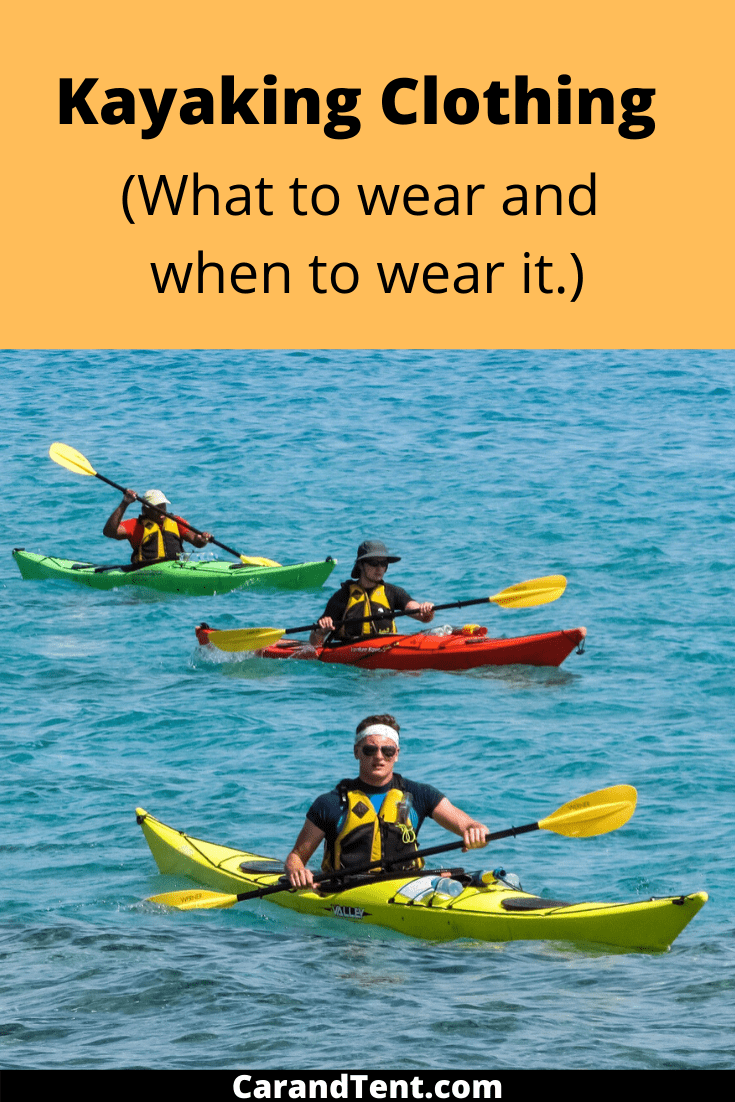 Kayaking Clothing pin3