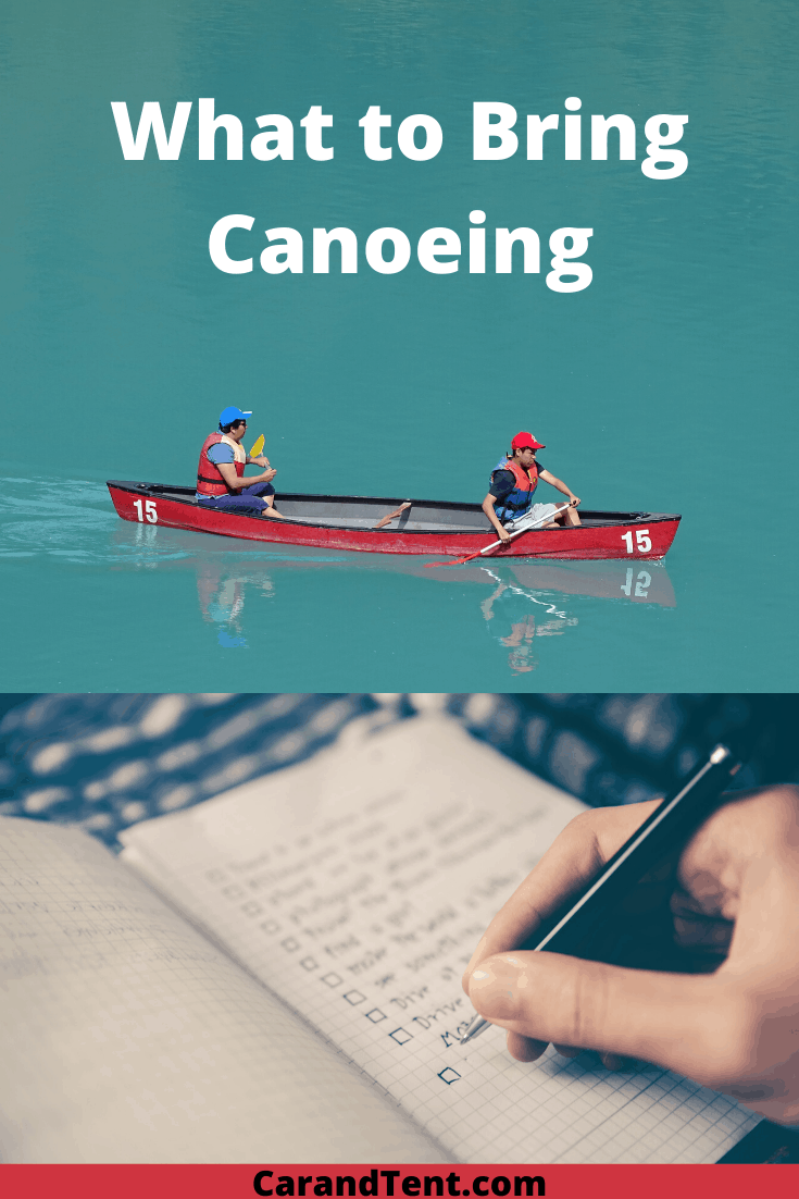What to Bring Canoeing pin3