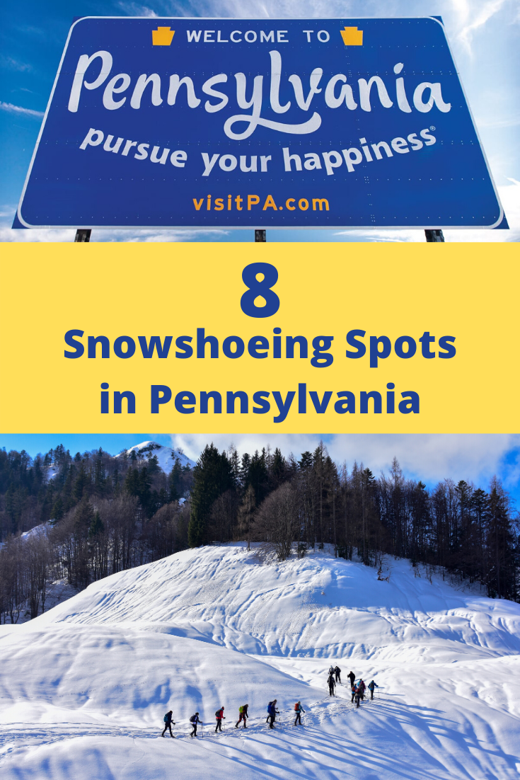 snowshoeing spots in pa pin2