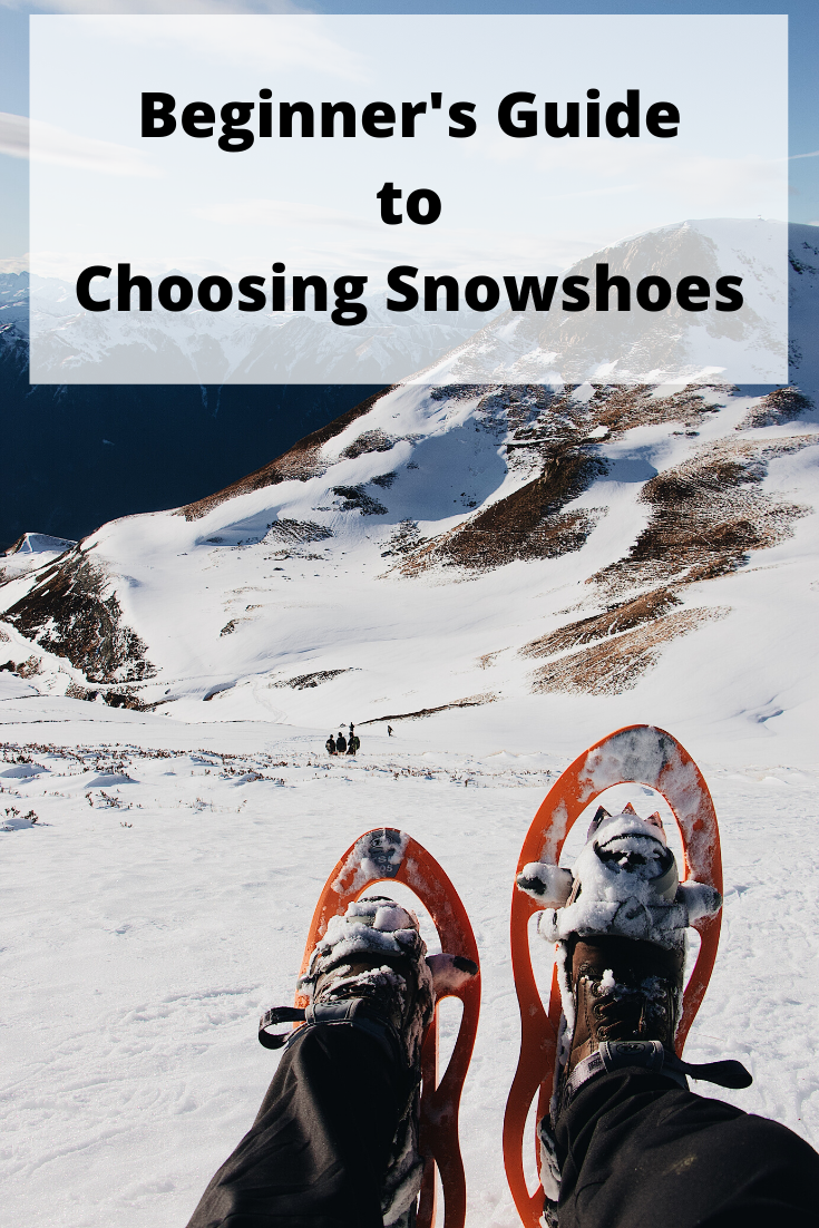 Beginner's Guide to Choosing Snowshoes pin2