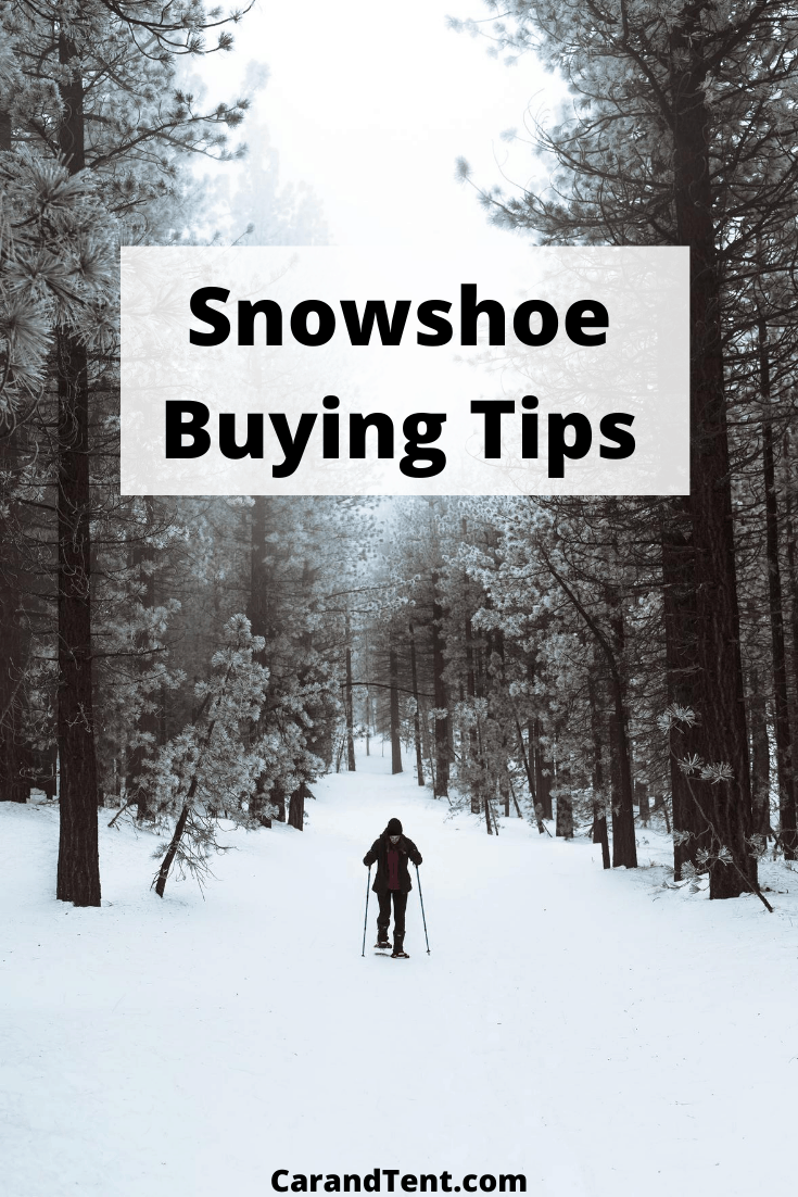 Snowshoe Buying Tips pin3