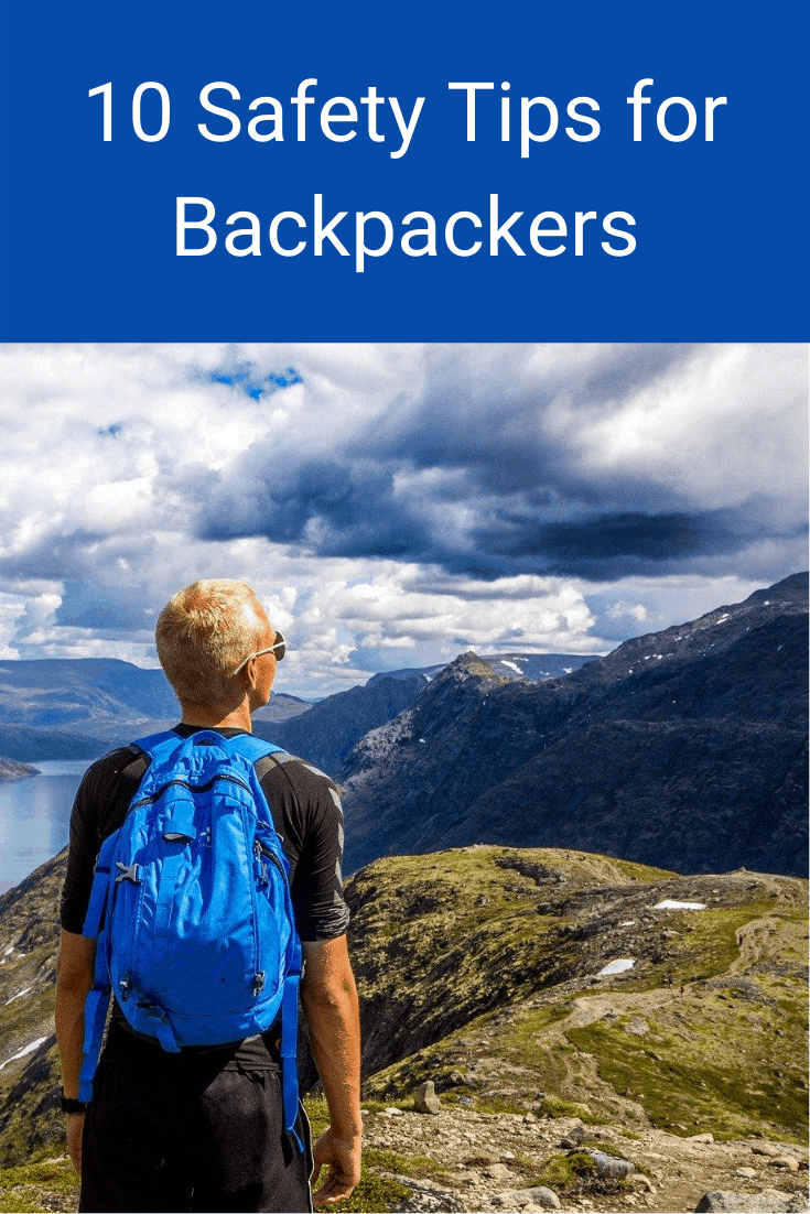 10 Safety Tips for Backpackers