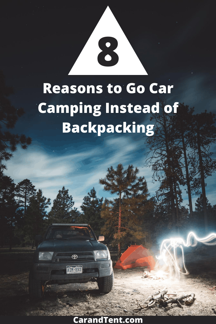 8 reasons to go car camping pin3