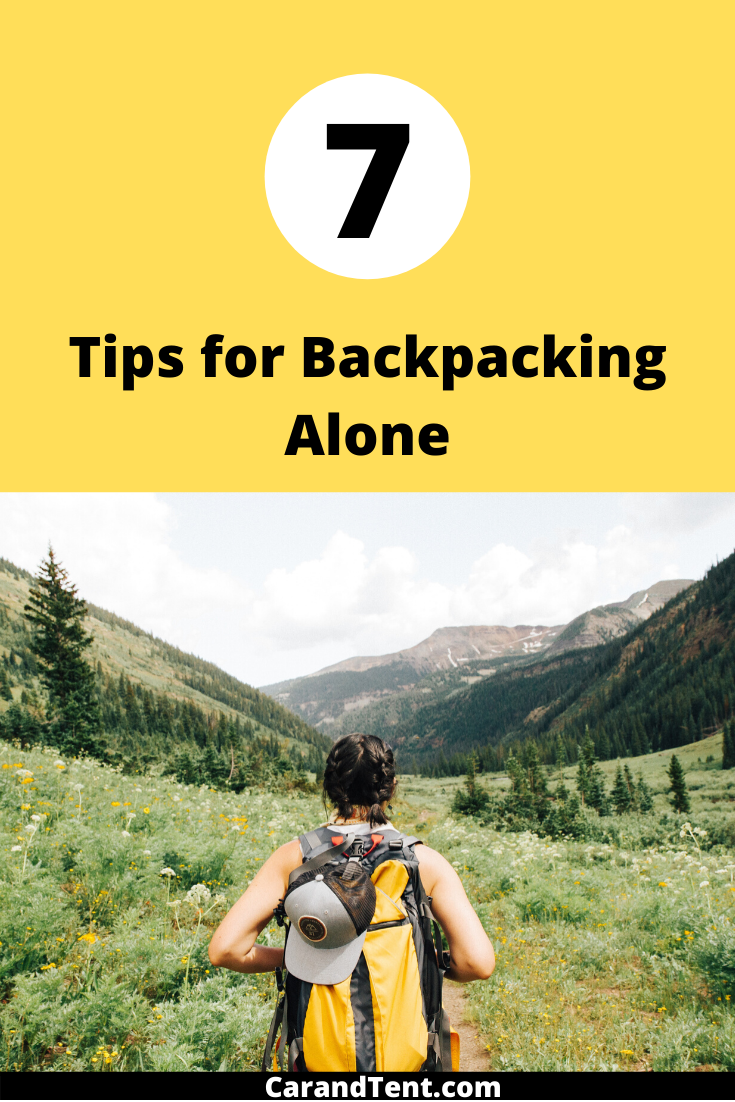 Tips for Backpacking Alone pin2