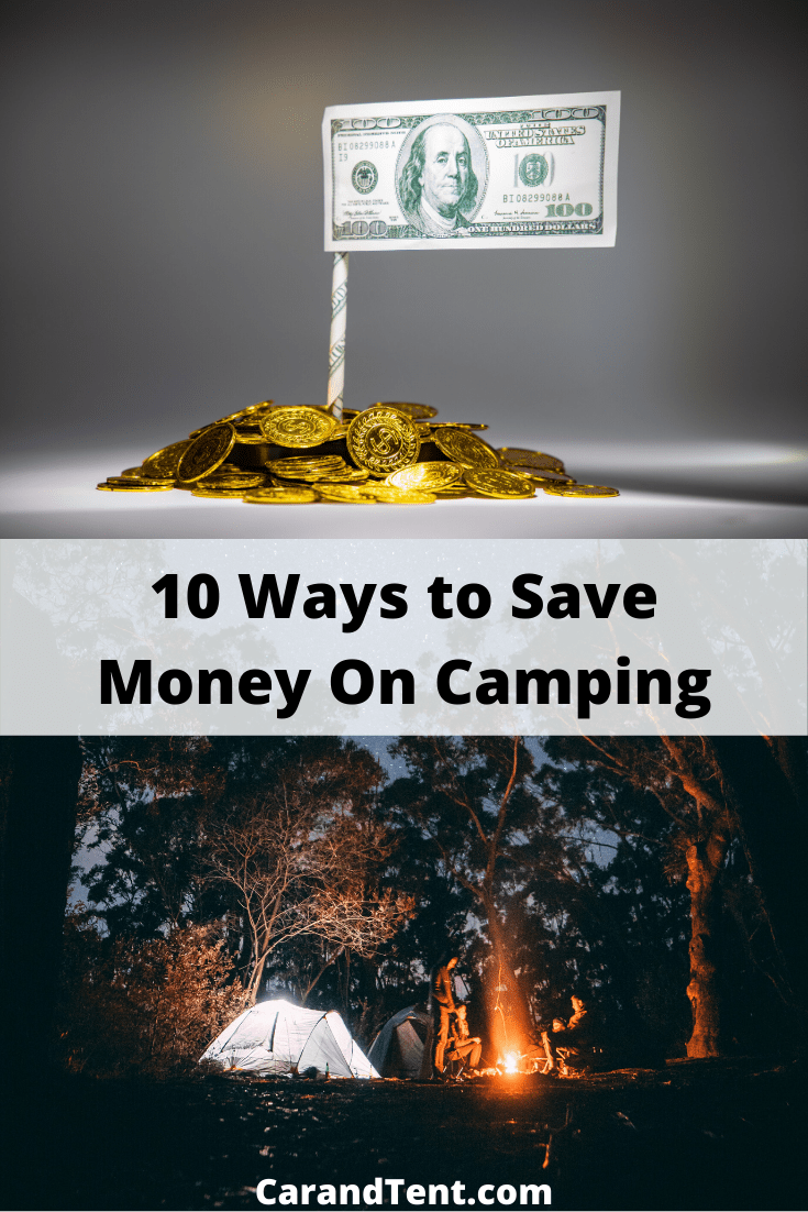 10 Ways to Save Money On Camping pin2
