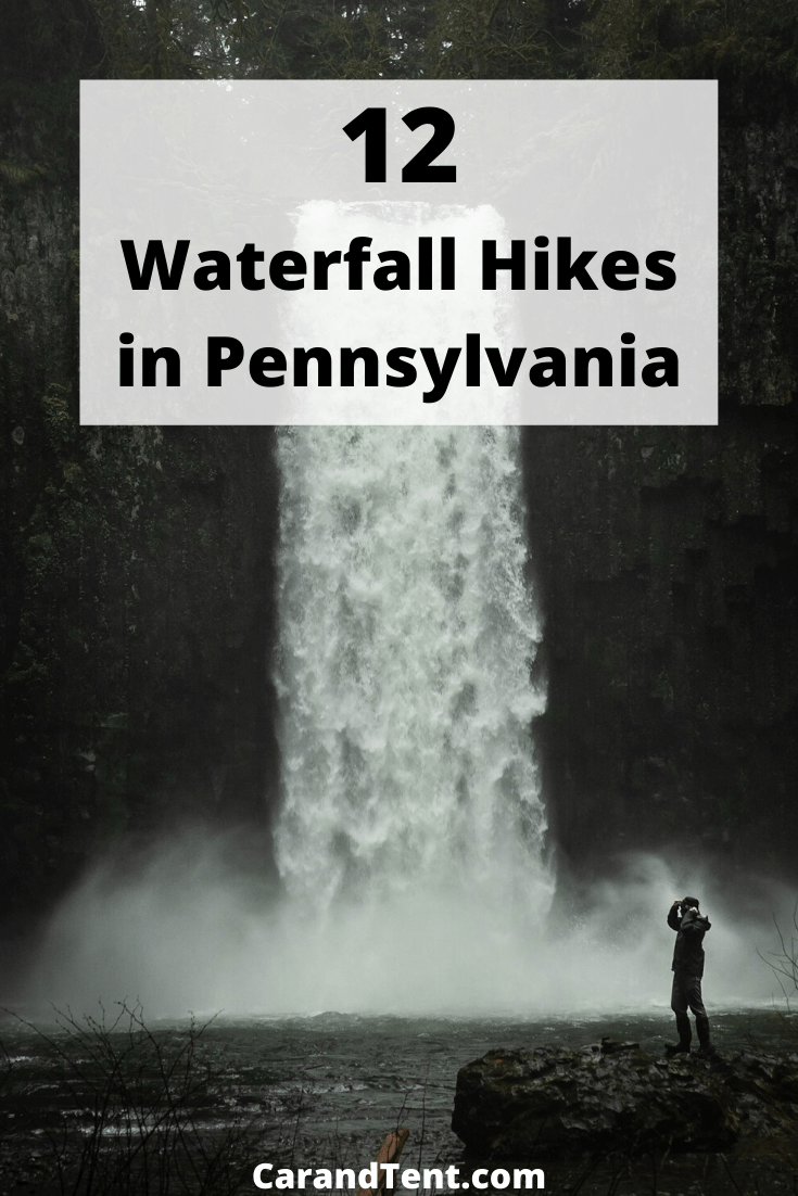 12 waterfall hikes in pennsylvania pin2
