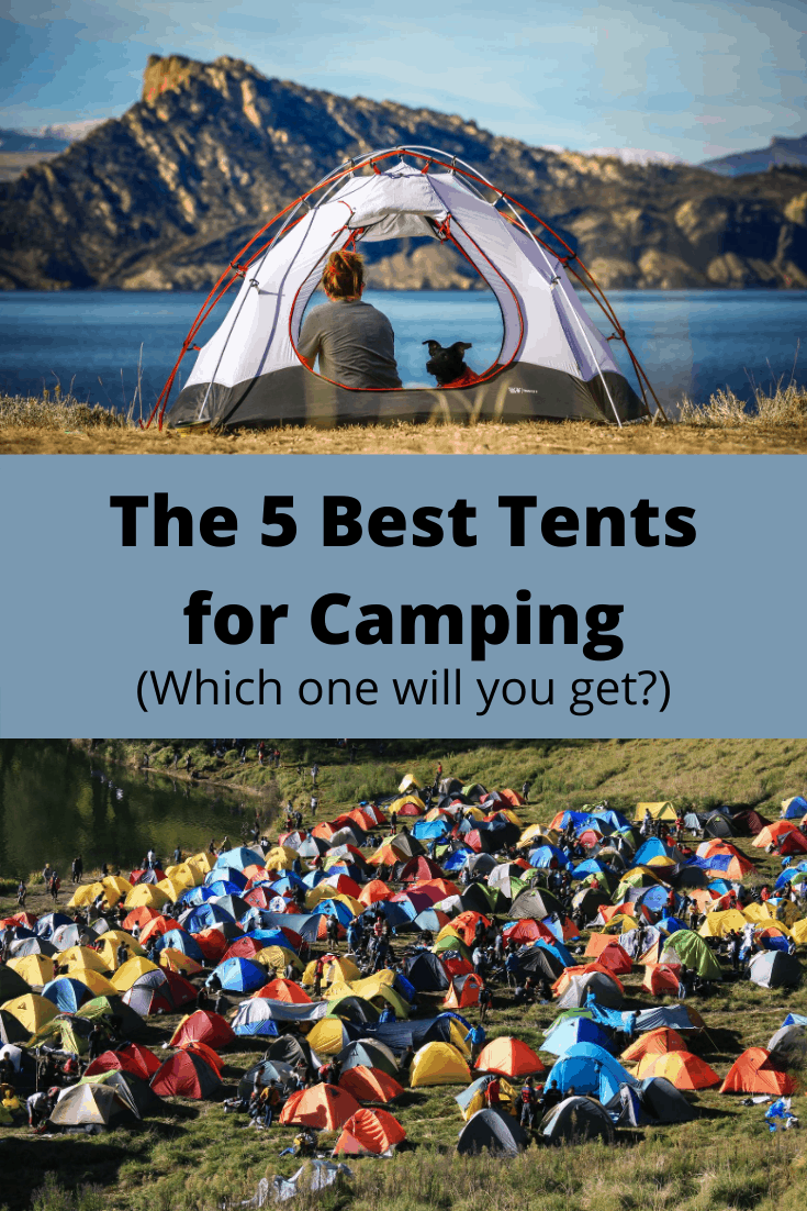 5 Best Tents for Camping pin3