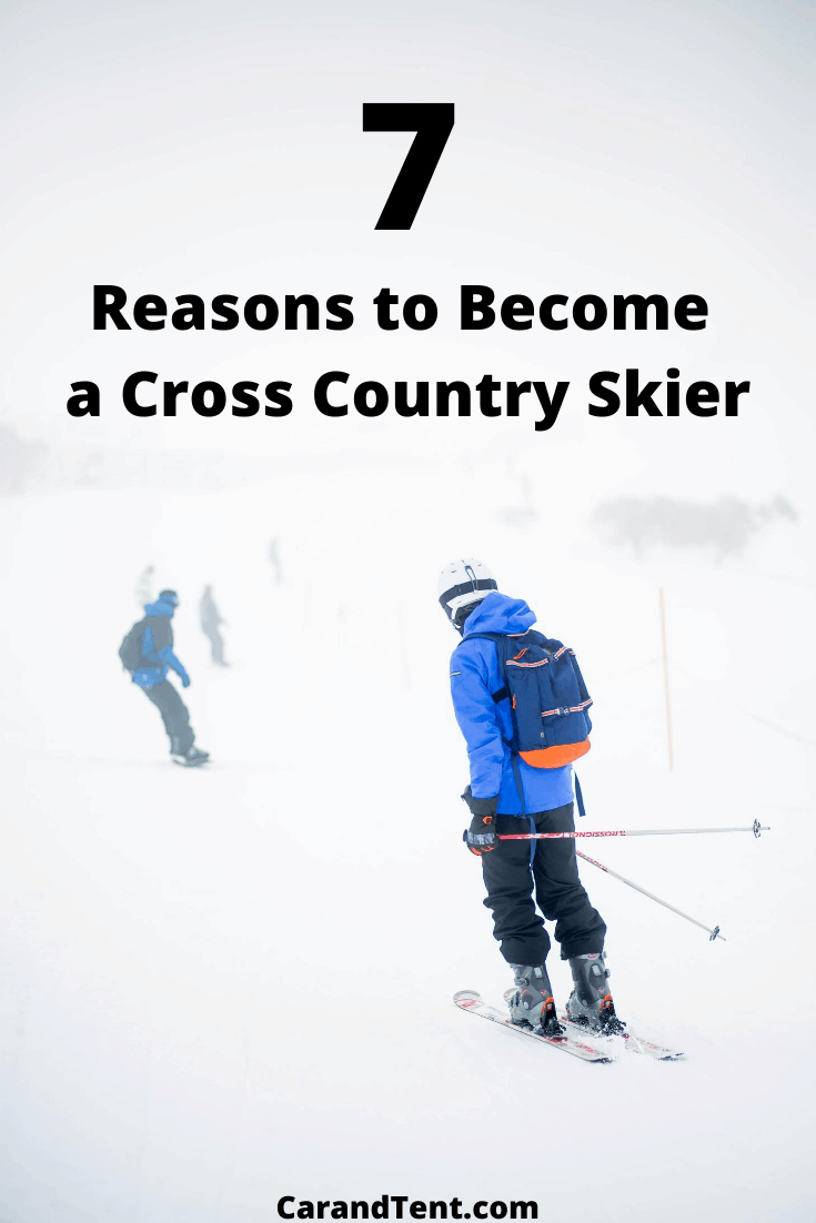 Reasons to Go Cross Country Skiing pin3