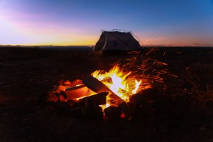 are tents fire resistant FEATURE