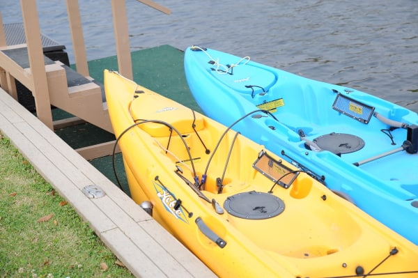 kayaks with holes